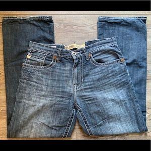 Big Star Pioneer Buckle Jeans 31 bootcut